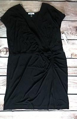 DKNYC Womens  Size 2X Black Sheath Dress New With Tags