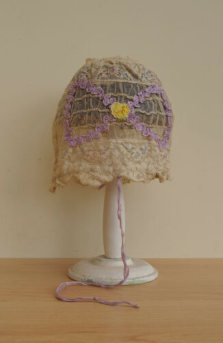 Antique Babies Lace Bonnet Vintage
