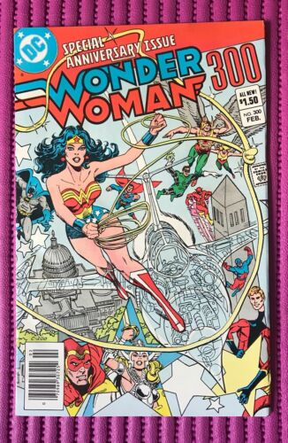 WONDER WOMAN #300 - Special Anniversary Issue - 1983 DC Comics