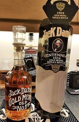 """Gebraucht, Jack Daniels 1904 Centennial Gold Medal Bottle 1.5L """"Extremely Rare"""" BNIB gebraucht kaufen  Versand nach Germany"""