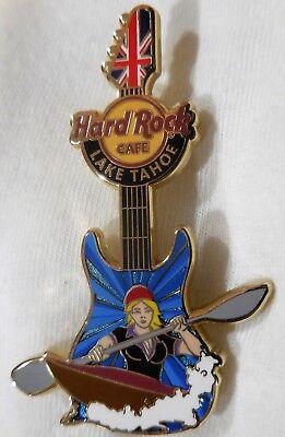 Hard Rock Cafe Lake Tahoe Mädchen der Spiele Gitarre'12 Pin - Le 100 Pins