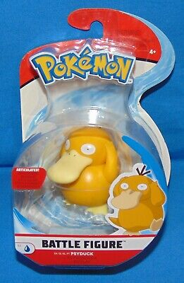 "Pokemon Battle Figure PSYDUCK *Sealed* 3"" Figure 2019 Articulated Scaled Battle"