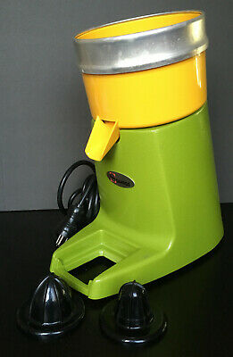 Santos Commercial Citrus Juicer Green And Yellow Model 38v1 38 Gently Used