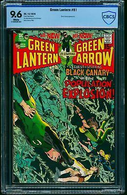 Green Lantern #81 CBCS NM+ 9.6 White