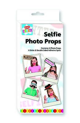 Kids Create Divertido Selfie Cabina Fotos Fiesta Props Niños Boda Cumpleaños