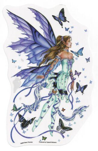 Large Fairy Sticker Car Decal LAVENDER SERENADE Nene Thomas purple faery faerie