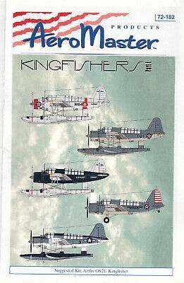 Kingfisher part 1 decals 1/72 Aero Master 72182