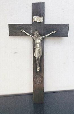 Old Wooden/Crucifix Hl.bruder Konrad Please F. Uns - Metal Sculpture/Plaque