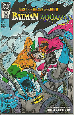 BEST OF THE BRAVE AND THE BOLD # 3 * NEAL ADAMS art * NICE COPY