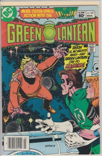 GREEN LANTERN MARCH  #162 DC COMIC BOOK 1983