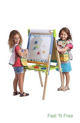 ECR4Kids Children's 3-in-1 Art Easel School Educational Kids Birthday Gift