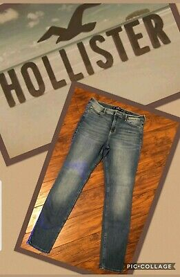 Hollister High-Rise Super Skinny Jeans/ Size 11R—30x30....Perfect Shape!