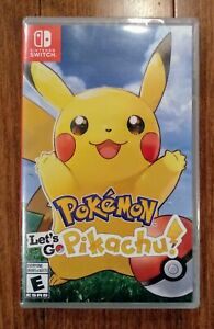 New Sealed Pokemon Let's Go Pikachu $70 FIRM