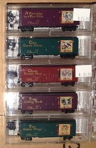 Micro Trains N Scale 12 days of Christmas