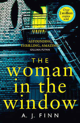 The Woman in the Window by A. J. Finn - Best Selling Crime Thriller -