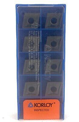 Korloy Carbide Insert Insert # Pack of 10 CNMG 431 HA