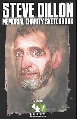 STEVE DILLON Memorial Charity Sketchbook