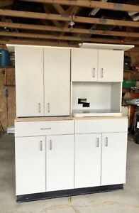 2 - Upper and 2 - Lower Kitchen / Kitchenette Cabinets