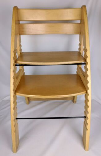 Modern Grow with Me Chair - One Step Ahead, Natural Wood, Used (855)