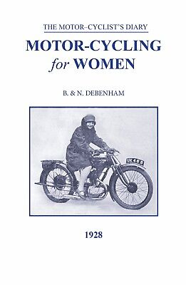 Vintage Motorcycling Book for Women paperback 1928 BSA New Book