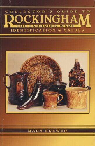 Antique Rockingham Pottery – Makers Marks Types Glazes Values / Illustrated Book