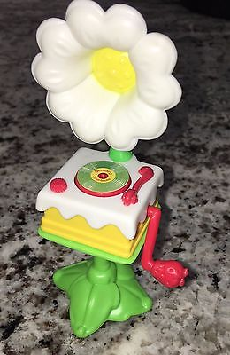 Berry Happy Home Fancy Fun Room Strawberry Shortcake Phonograph Record Player NM