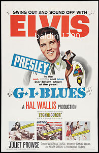 ELVIS-PRESLEY-G-I-BLUES-HIGH-QUALITY-VINTAGE-MOVIE-MUSIC-POSTER