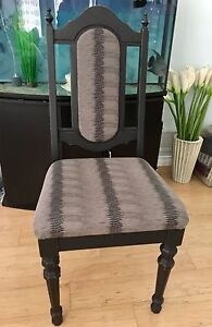 Shabby chic accent chair!
