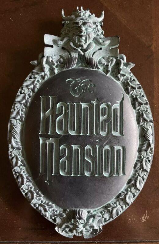 Disney's Haunted Mansion Replica Plaque EXCLUSIVE