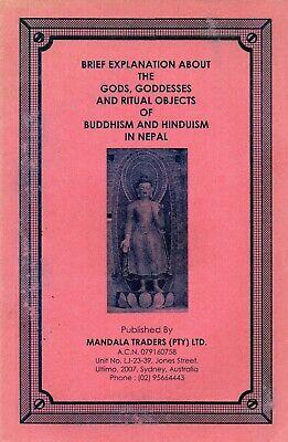 Gods Goddesses Ritual Objects of Buddhism Hinduism Nepal - Mandala Trading Book Hinduism Gods Goddesses