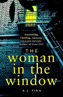 The Woman In The Window  A Novel By A  J  Finn  Paperback