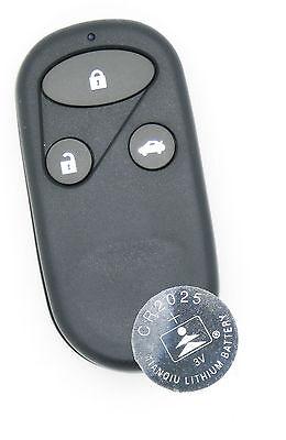 Fits Honda Civic Accord Jazz CR-V etc. 3 Button Remote key FOB refurbish kit