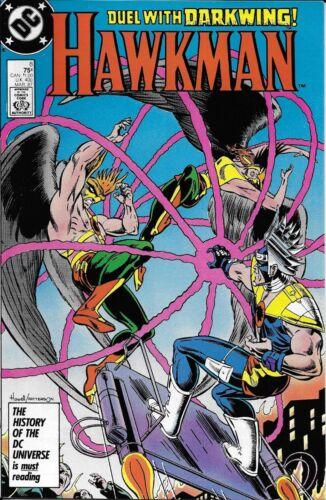 Hawkman Comic 8 Copper Age First Print 1987 Isabella Mishkin Howell Garzon