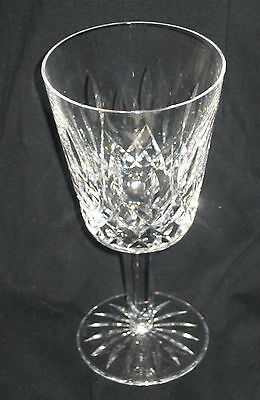 WATERFORD LISMORE PATTERN : VINTAGE WATERFORD ETCHED : WATER GOBLET  7 INCHES on Rummage