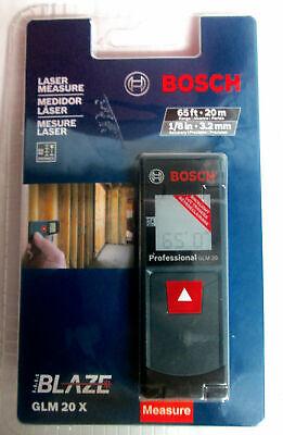 Bosch Blaze Glm 20 X 65ft Laser Measure - New Sealed
