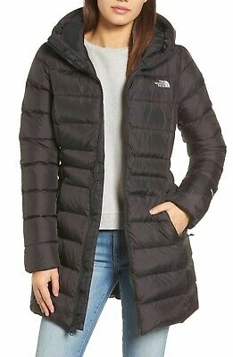 $249 NWT NEW THE NORTH FACE WOMEN'S GOTHAM PARKA II BLACK JACKET COAT SIZE M