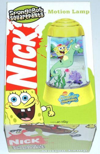Spongebob Squarepants Motion Lamp MIP NRFB OSS 2003 Nickelodeon