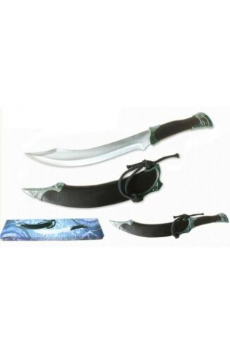 Lord of the Rings Elven Knife of Strider and Scabbard Ranger Short Sword Dagger