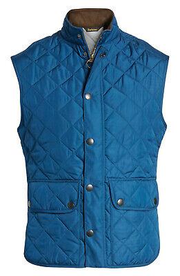 Barbour Lowerdale Quilted Gilet Vest Men's XL Petrol Blue NWT