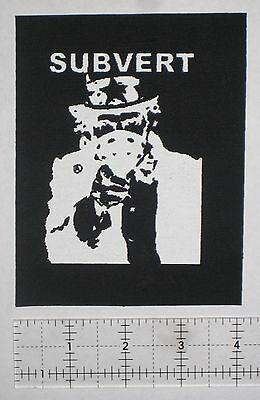 Anti-Government Anarcho Punk Patch Crust Warvictims Unholy Grave Insect Warfare
