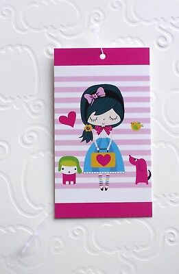 100  BOUTIQUE TAGS ACCESSORIES TAG CUTE LITTLE GIRL CLOTHING  TAGS PLASTIC - Little Girl Boutique Clothing