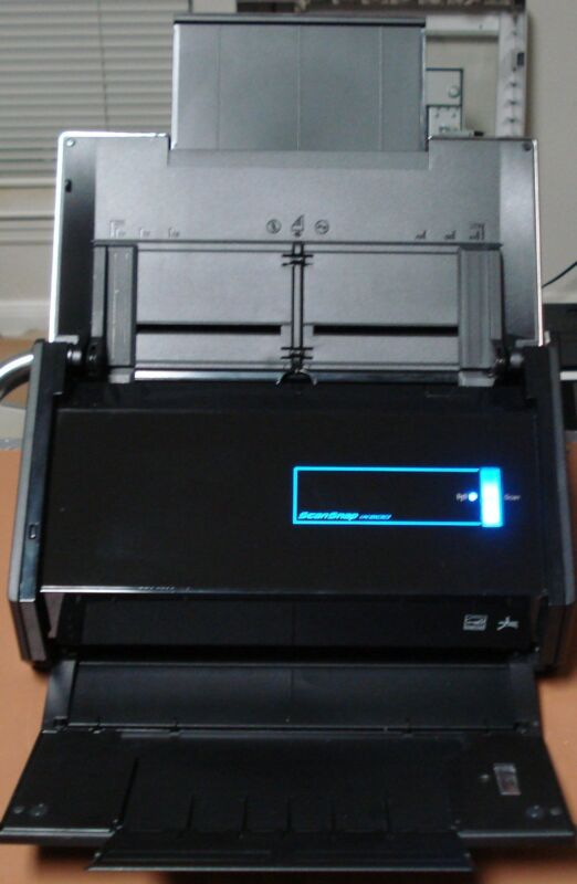 Used Fujitsu ScanSnap iX500 Scanner with warranty < 10,000 scans