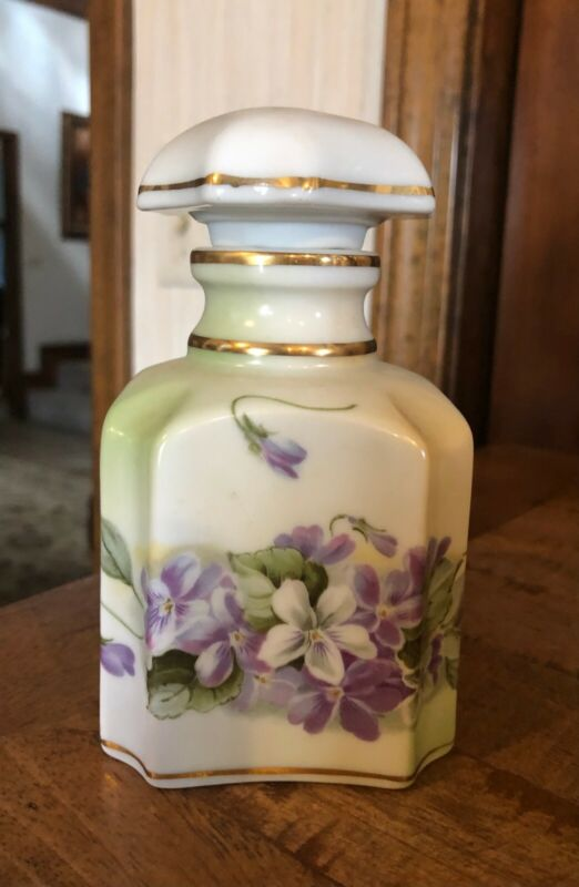 Perfectly Lovely RS Prussia Perfume Bottle Authentic Stamp C 1890-1914