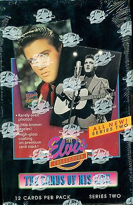 1992 RIVER GROUP ELVIS COLLECTION BOX SERIES 2 FACTORY-SEALED  36 PACKS