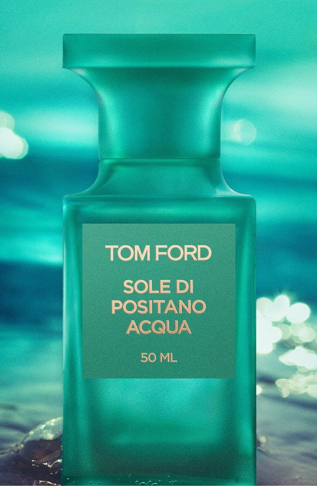 NEW TOM FORD SOLE DI POSITANO ACQUA 1.7/ 50ml RARE 2019 Mens