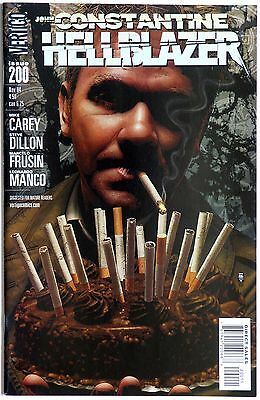 John Constantine Hellblazer 200 Vertigo DC Comics M Carey S Dillon M Frusin Manc