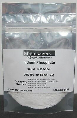 Indium Phosphate 99 Metals Basis 25g