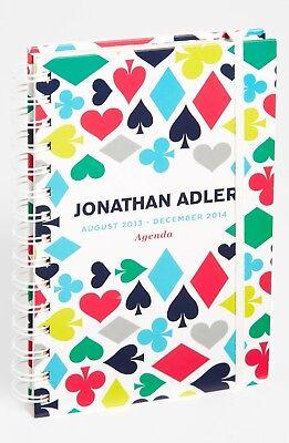 Jonathan Adler House Of Cards 17-month Agenda 2013 2014 Nwot