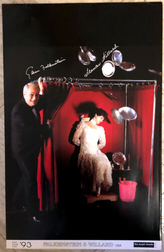 AUTOGRAPHED: Falkenstein & Willard Magic Hands Poster