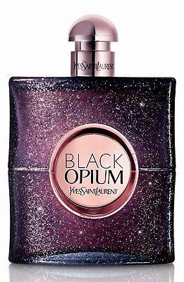 YSL Black Opium Nuit Blanche Eau de Parfum - NEW - In White Testr (Black Opium Yves Saint Laurent For Men)